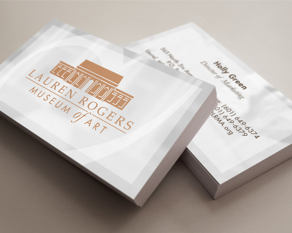 LAUREN ROGERS MUSEUM OF ART    Business Cards