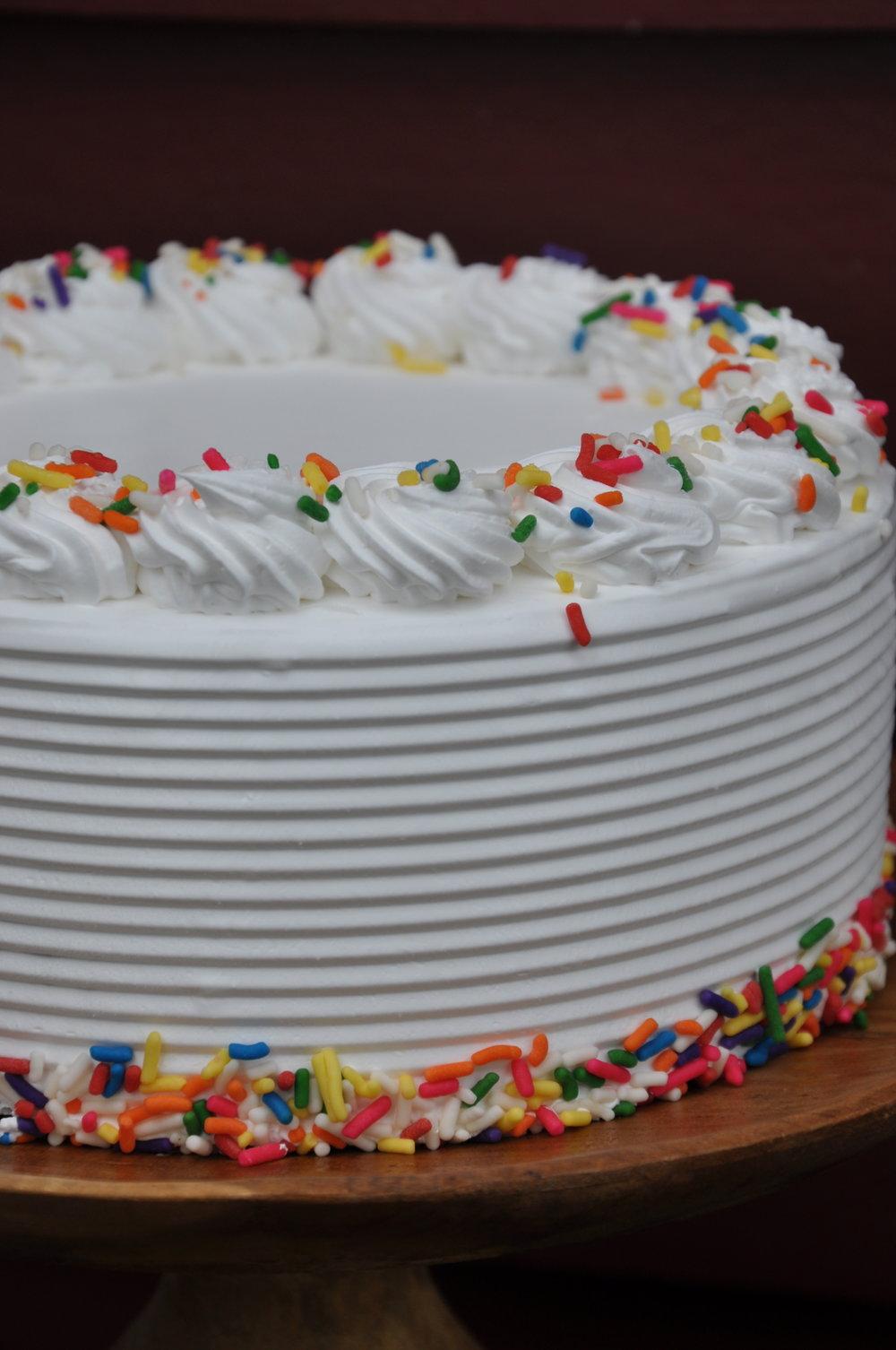 standard ice cream cake