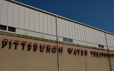 The Water Treatment Plan in Aspinwall, 2018