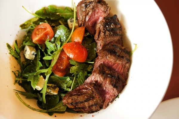Extra Virgin Pizza United Square - Lo & Behold Group - Grilled Skirt Steak Salad