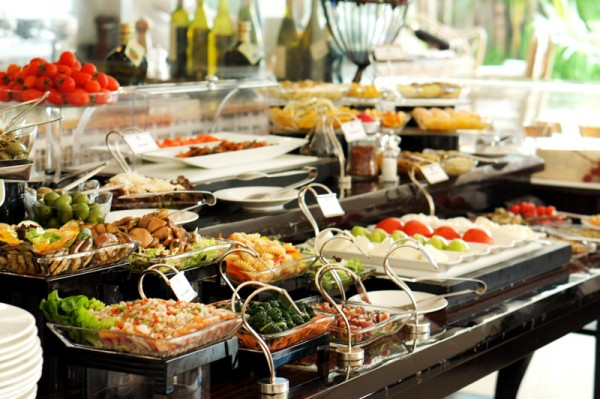LaBrezza Weekend Prosecco Brunch - The St. Regis Singapore - Extensive spread of appetisers