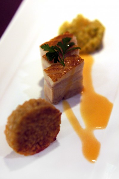 Recipes by SHATEC - 30th Anniversary Dinner Set Menu - Slow-cooked Pork Belly with Apple Salsa