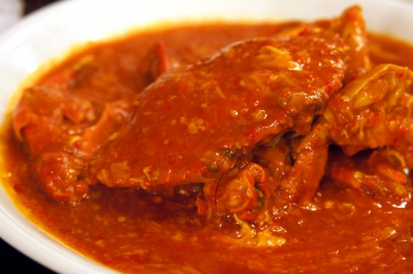 Red House Seafood 68 Prinsep Street - Crab in Red House Special Chilli Stew