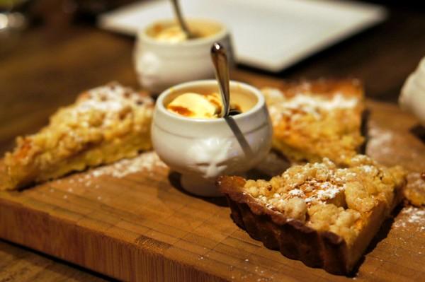 Bar-Roque Grill Amara Hotel - Chef Stephane Istel & Kori Millar - Mom's Recipe Apple Pie
