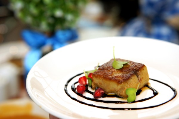 Greenhouse Autumn Vintage Champagne Sunday Brunch - Pan Fried Coffee Flavoured Foie Gras