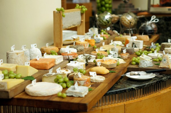Greenhouse Autumn Vintage Champagne Sunday Brunch - Selection of 50 Types of Cheeses