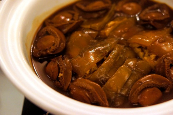 Man Fu Yuan InterContinental Singapore - Braised Crocodiles Tails with Abalones in Abalone Sauce