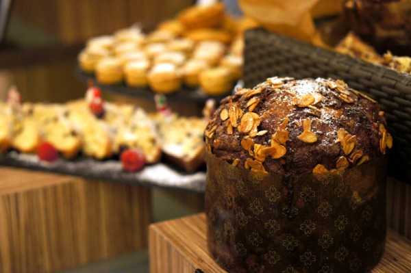 Hilton Singapore - 2013 Festive Offerings - Passion Fruit & Chocolate Panettone