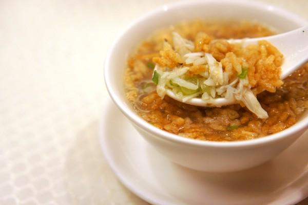 Carlton Singapore Wah Lok - Poached Crispy Rice in Crab Soup