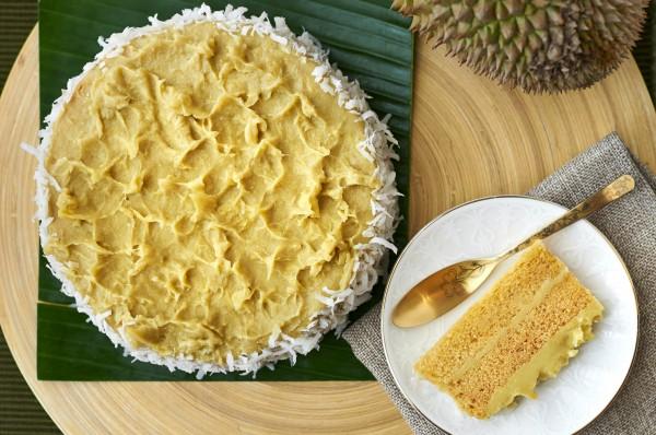 Goodwood Park Hotel - Durian Malay Cake (Durian Fiesta 2014)