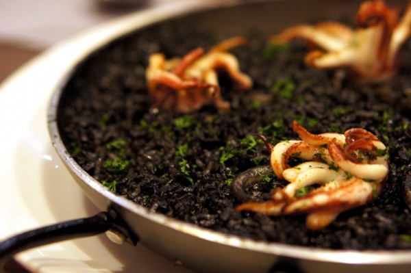 Element, Amara Hotel - Chef de Cuisine Mikel Badiola - Squid Ink Risotto