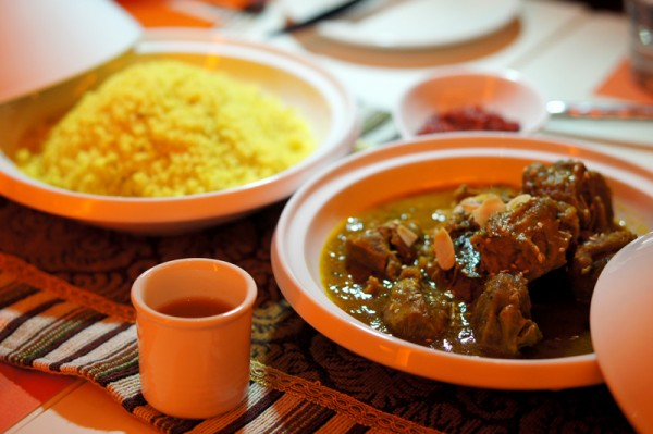 The Line, Shangri-la Singapore - Al Souq Middle Eastern Exploration - Tunisian Lamb Tagine