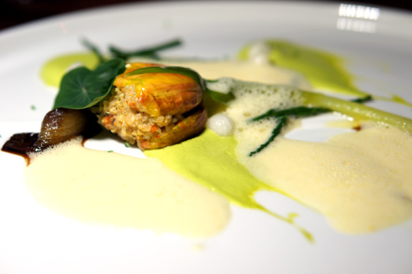 Michelin-starred Chef Pascal Aussignac - Gastronomic Delights at The Cliff - Amber Tulip with Saffron & Mouclade