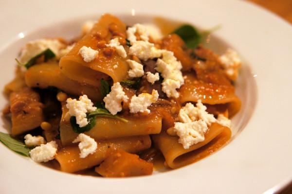 Buttero, Tras Street - Paccheri & Eggplant Ragu