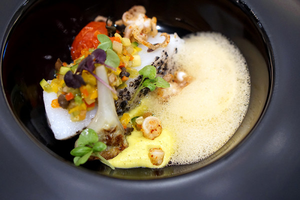 Saveur Art at ION Orchard - Slow-cooked Cod in Olive
