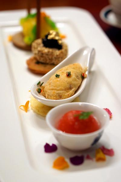 Jiang-Nan Chun Four Seasons Singapore - Four Great Beauties of China - Heavenly Beauties Combination Platter