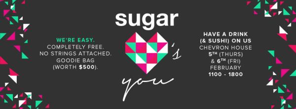 Free Maki-San Sushi with Sugar - Sugar Loves You