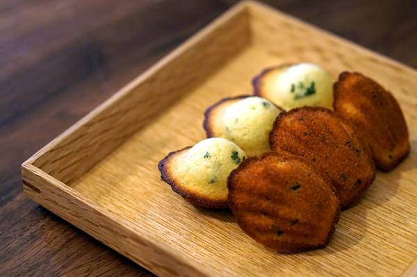 Fine Dining Restaurant Sorrel, Boon Tat Street - Basil Madeleine