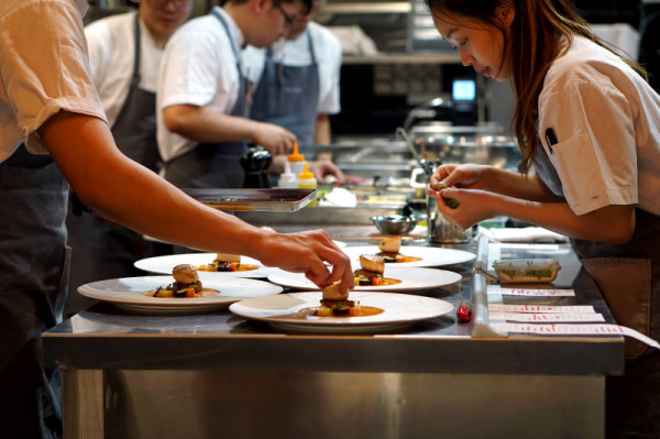 Fine Dining Restaurant Sorrel, Boon Tat Street - Chefs at Work