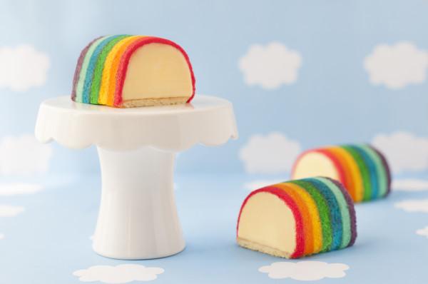 Goodwood Park Durian Rainbow Ice Cream Cake