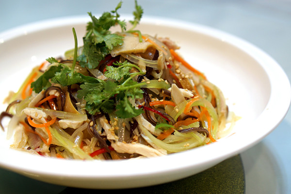 Diamond Kitchen at Science Park - Shredded Chicken Salad with Abalone