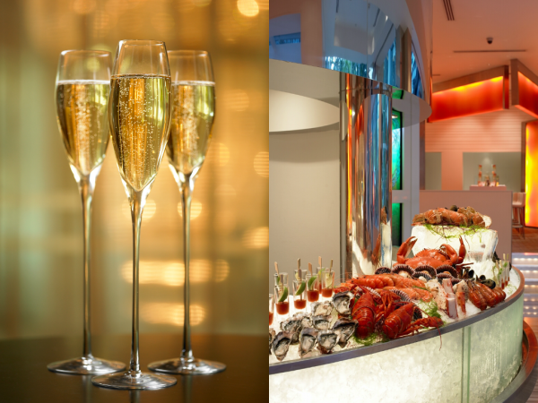 Perrier-Jouet F1 Suday Champagne Brunch - The Line at Shangri-La Hotel Singapore