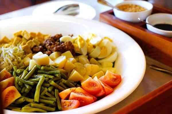 Indonesian Food Festival Novotel Singapore Clarke Quay- Gado Gado