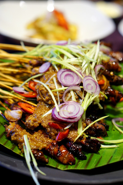Indonesian Food Festival Novotel Singapore Clarke Quay - Sate
