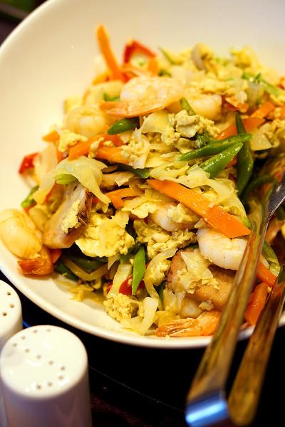 Indonesian Food Festival Novotel Singapore Clarke Quay - Sauteed Green Bean and Seafood Salad