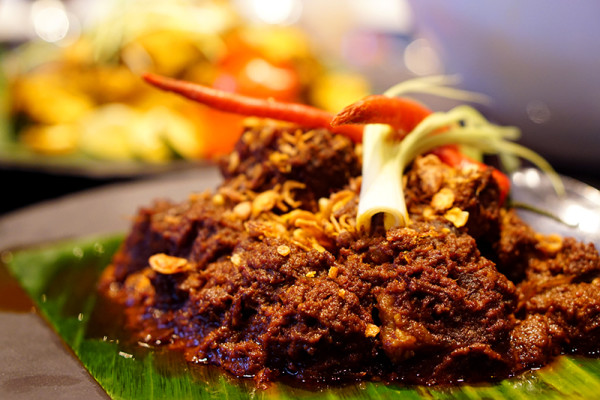 Indonesian Food Festival Novotel Singapore Clarke Quay - West Sumatra Caramelized Beef Curry