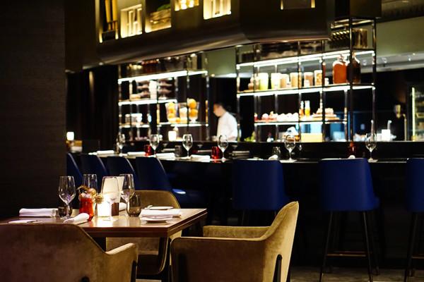 European restaurant Ash & Elm - InterContinental Singapore - Interior