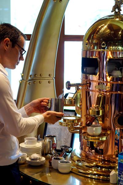 Kwee Zeen Magnifique Sunday Champagne Brunch - Sofitel Singapore Sentosa Resort & Spa - Coffee Machine
