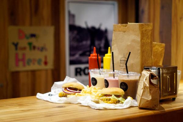 Burger Joint Singapore - Layout