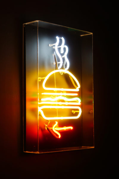 Burger Joint Singapore - Neon Sign