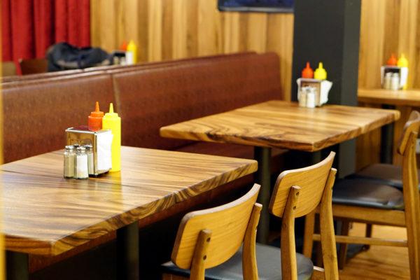 Burger Joint Singapore - Setting