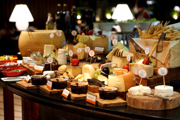 New Basilissimo Menu at Basilico, Regent Singapore - Of the Mediterranean and Alps - Cheese Spread
