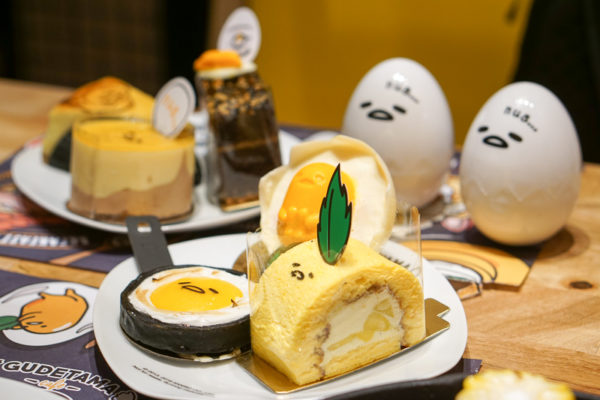 Gudetama Cafe Singapore - Lazy Egg Arrives in Singapore - Cakes