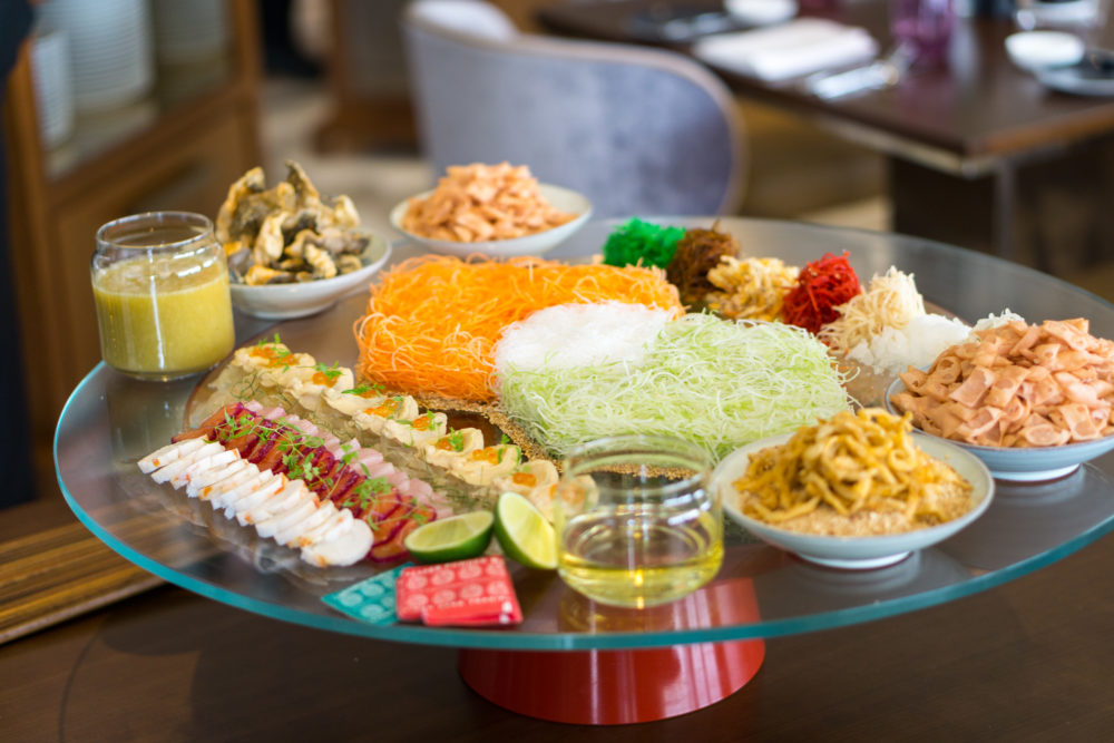 Chinese New Year 2018 - Racines, Sofitel Singapore City Centre - Sofitel's Signature Eight Treasures Yusheng