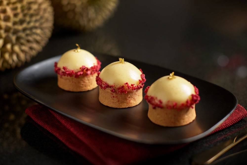 Goodwood Park Hotel D24 White Chocolate Raspberry Dome