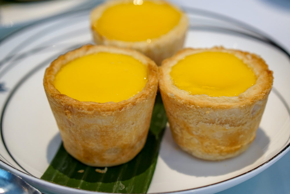 Forbidden Duck Singapore by Demon Chef Alvin Leung - Giant Egg Tart