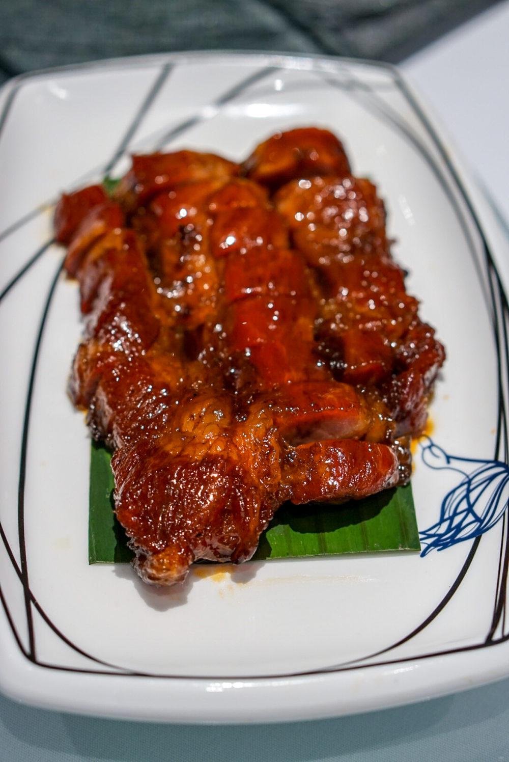 Forbidden Duck Singapore by Demon Chef Alvin Leung - Iberico Pork Char Siu