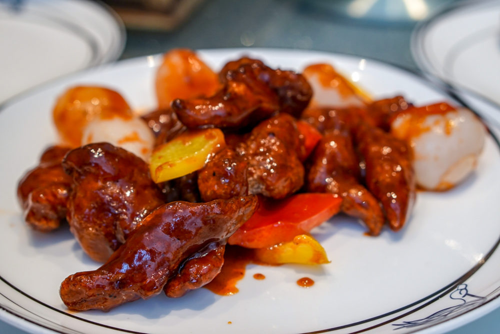 Forbidden Duck Singapore by Demon Chef Alvin Leung - Sweet & Sour Pork with Lychee