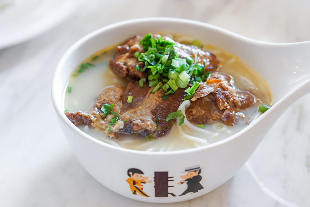 Tsui Wah Singapore Opens at Clark Quay - Kagoshima-style Pork Cartilage in Fish Soup with Mixian