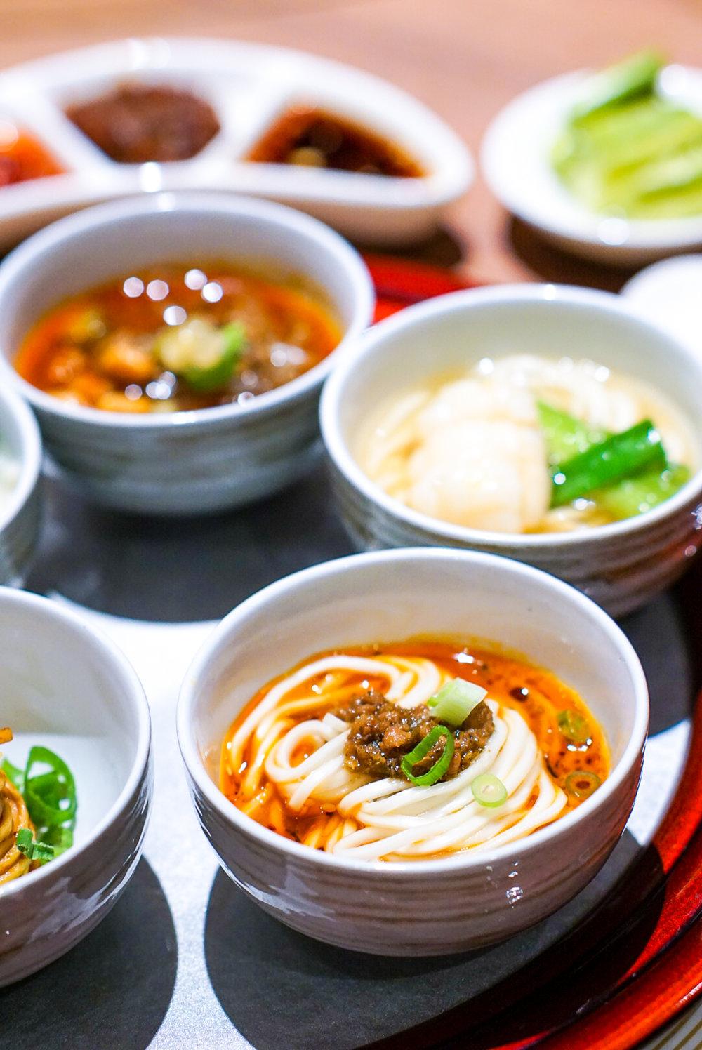 Si Chuan Dou Hua Grand Dim Sum Brunch - Si Chuan Dou Hua Five Elements Noodles