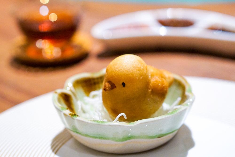 Si Chuan Dou Hua Grand Dim Sum Brunch - Deep-fried Minced Chicken Glutinous Rice Dumpling