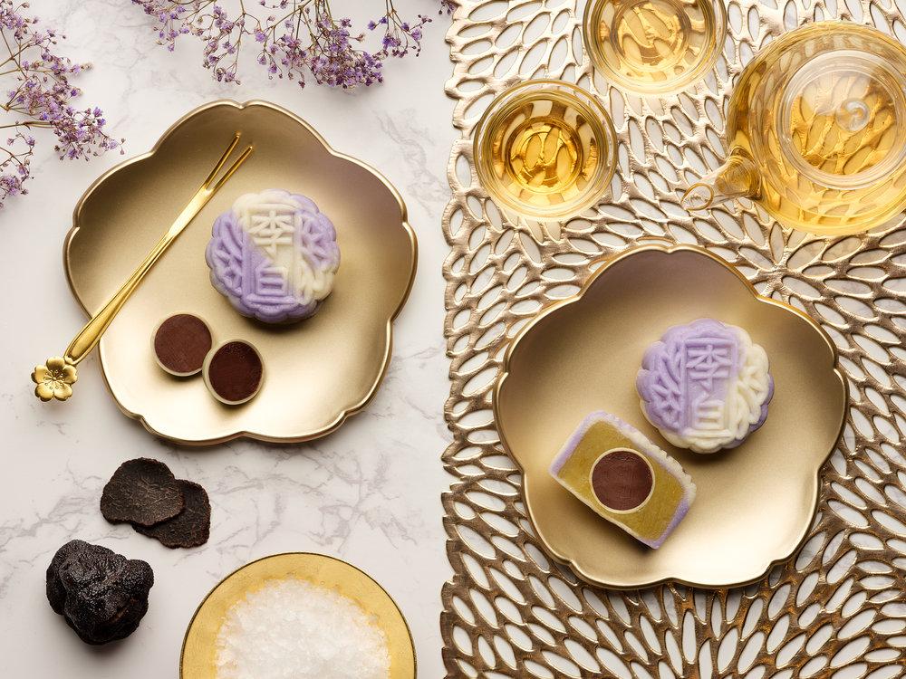 Sheraton Towers Singapore - Mini Snowskin Mooncake - Black Truffle Sea Salt Dark Chocolate with White Lotus Seed Paste.jpg