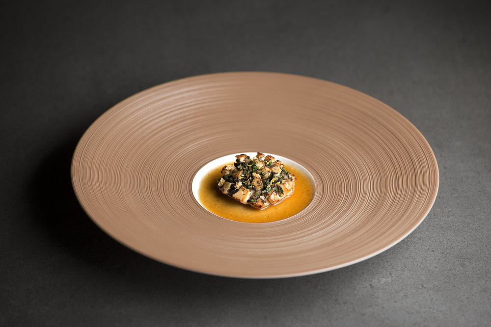Scallop with Black Truffle and Fermented Oxtail Jus.jpg