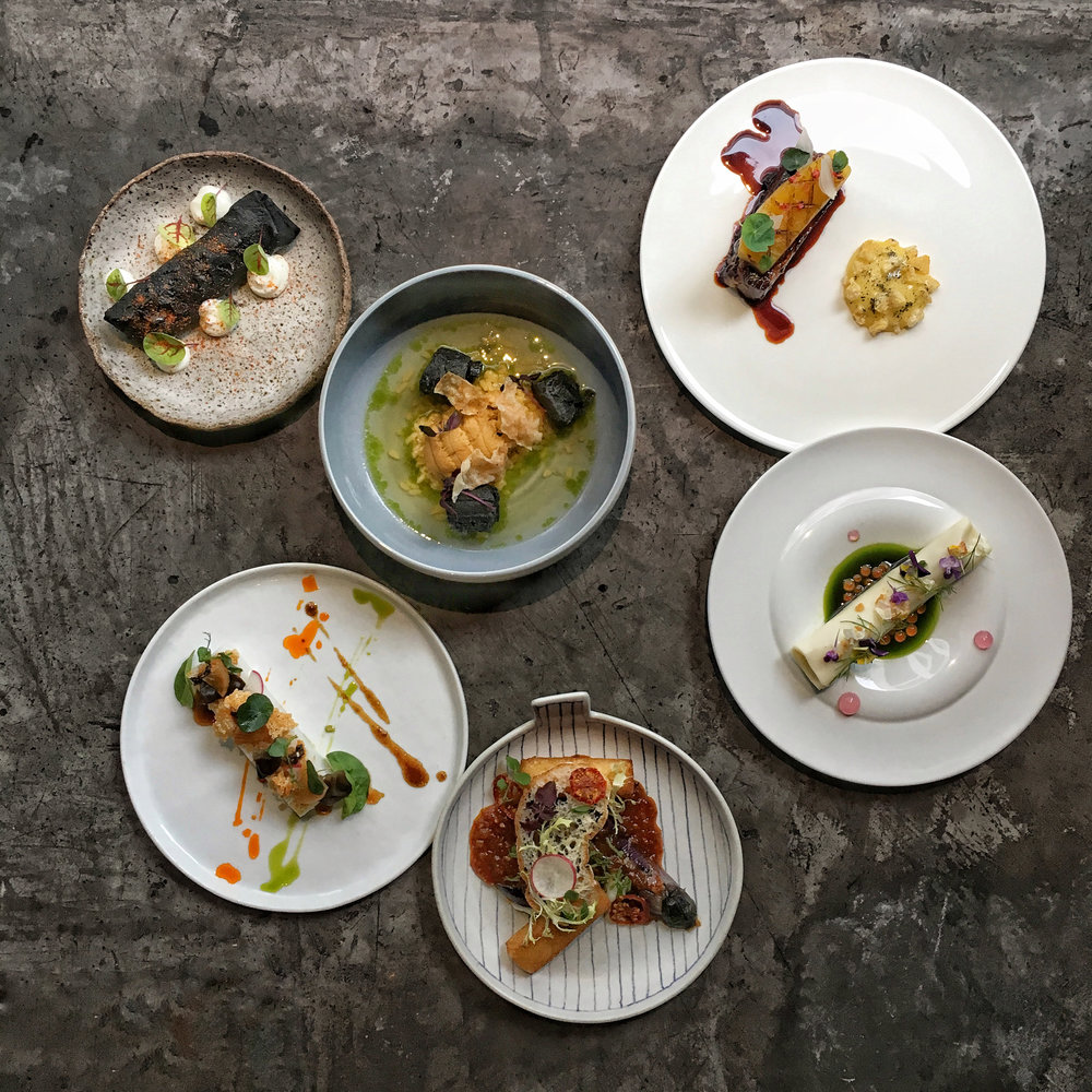 Each chef will present two courses for the event. - A signature item from the restaurant, and a special dish, inspired by Chinatown, created exclusively for the event.