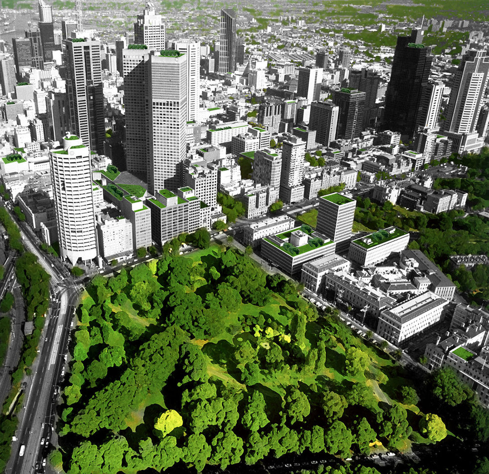 urban forest strategy, melbourne. - Making a City Greener. 2012-2032Author: City of Melbourne
