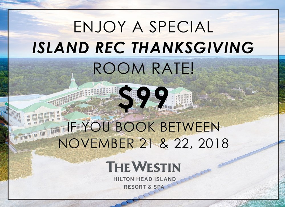 "Call 843.681.4000 and select option one for reservations. Mention the promo code ""TROT"" for the $99 rate"